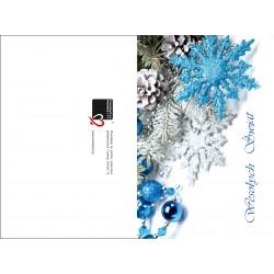 Niebieska śnieżynka