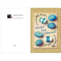 Niebieskie pisanki
